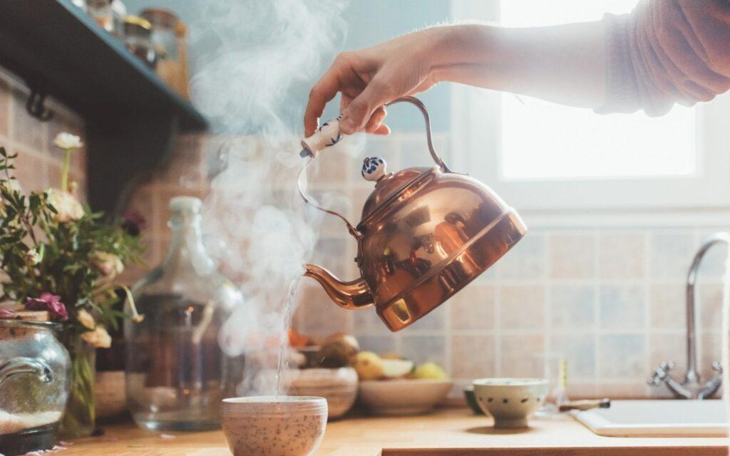 ретро чайник газовый