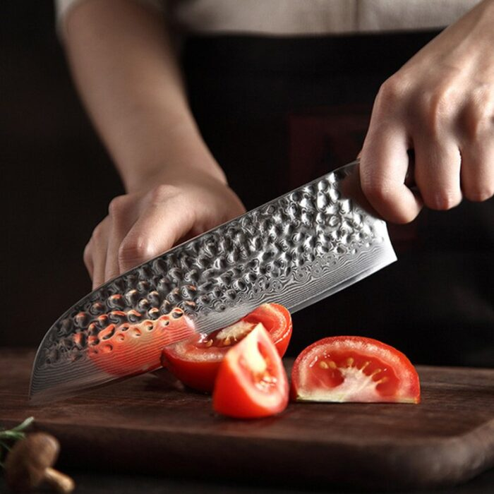 нож сантоки