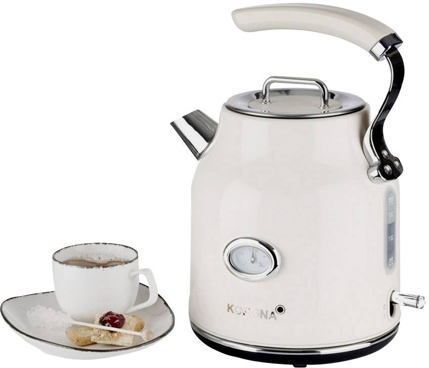 чайник в ретро стиле электрический с термометром