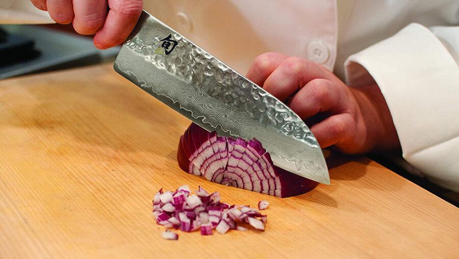кухонный нож сантоку