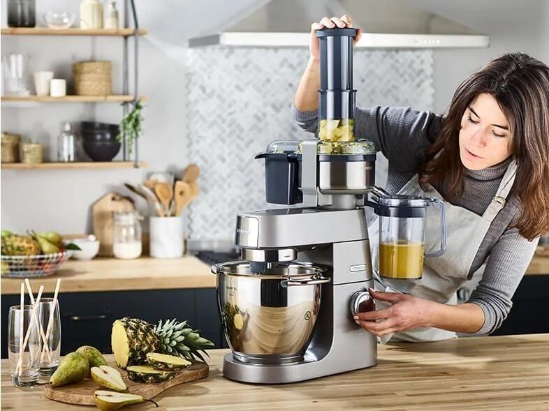 тест кухонных комбайнов