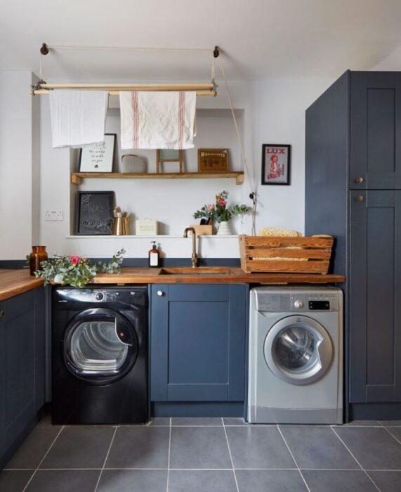 маленькие кухни со стиральной машиной