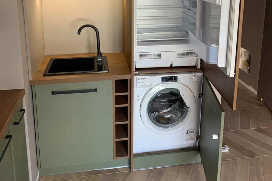 кухня 6 метров стиральная машина