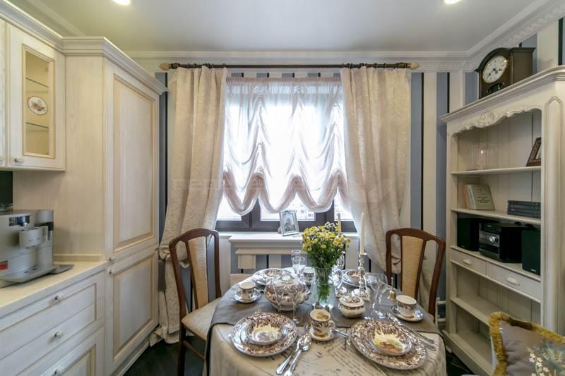 шторы на кухню прованс