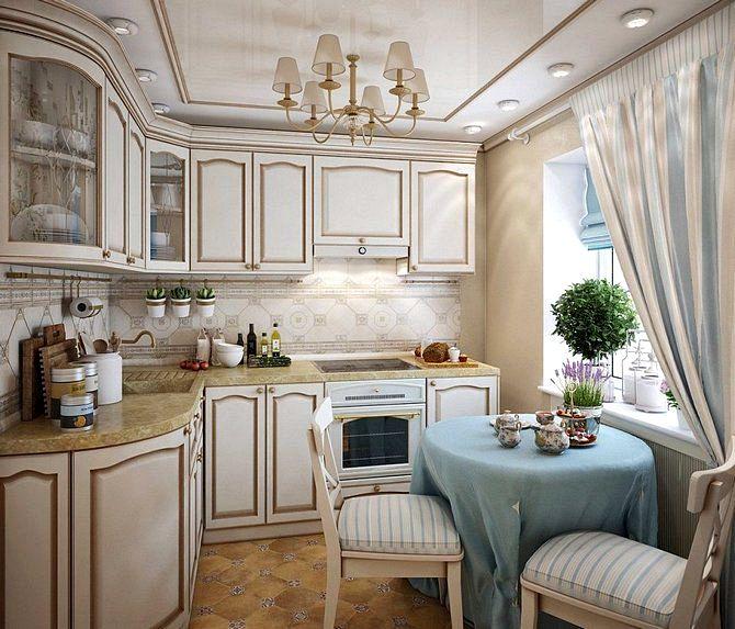 кухни прованс фото