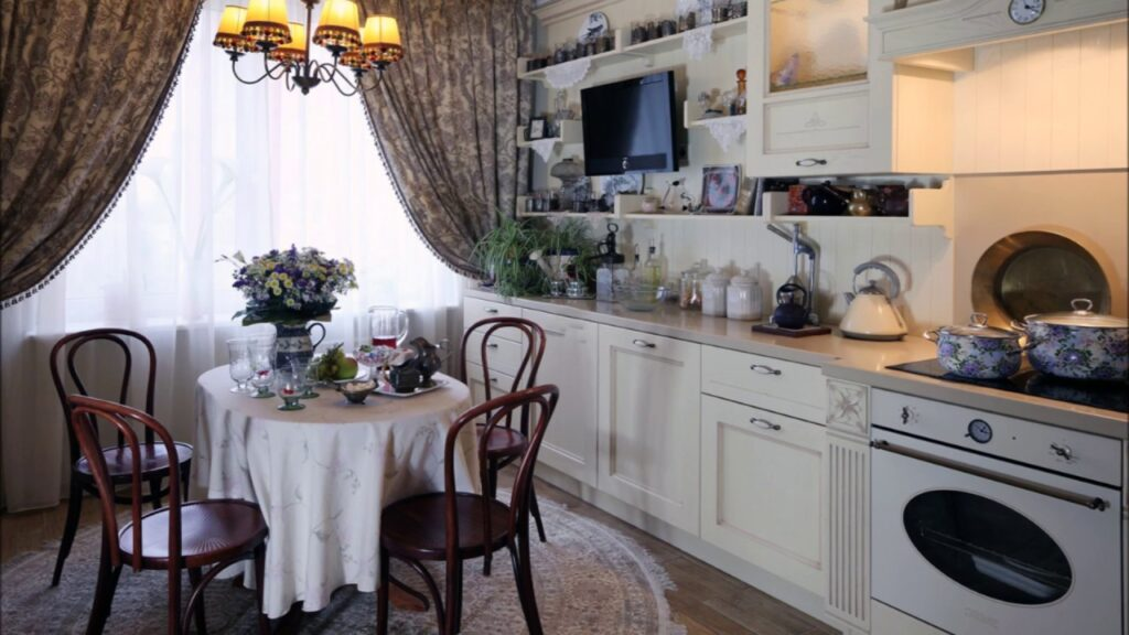 малогабаритные кухни прованс