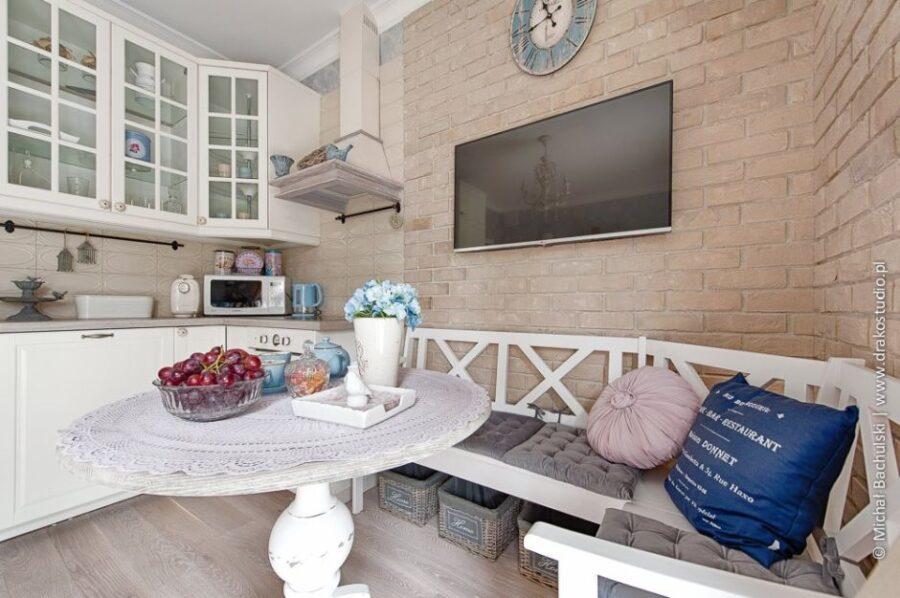 кухни прованс в домах