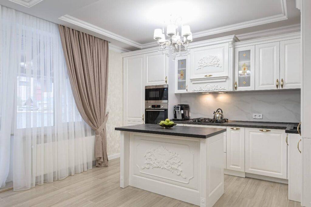 занавески на кухню фото