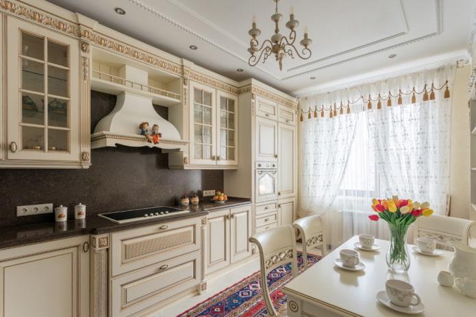 кухня в стиле прованс +в малогабаритной кухне