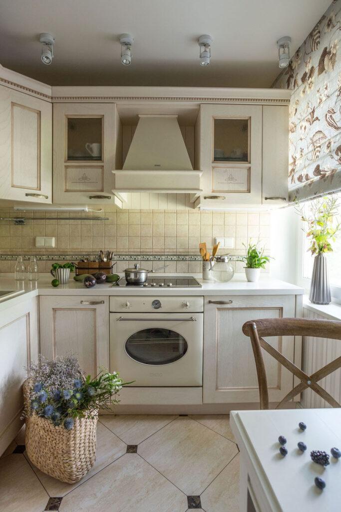 кухня деревянная прованс