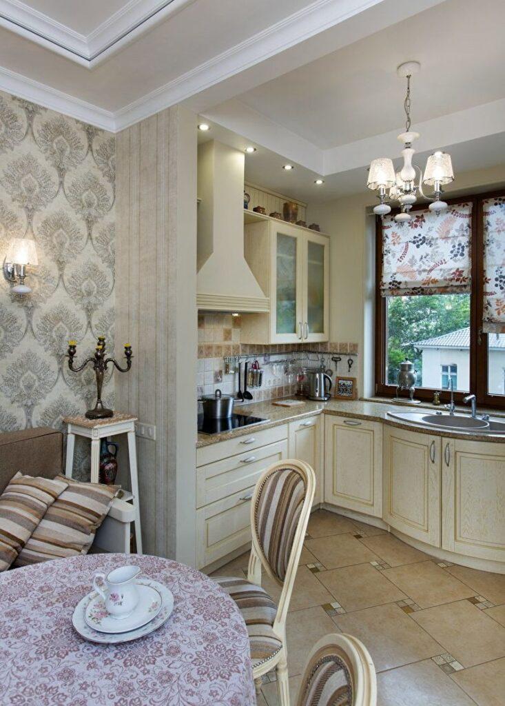 кухня прованс дизайн фото