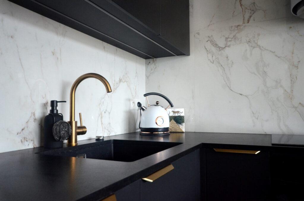 дизайн черных кухонь фото