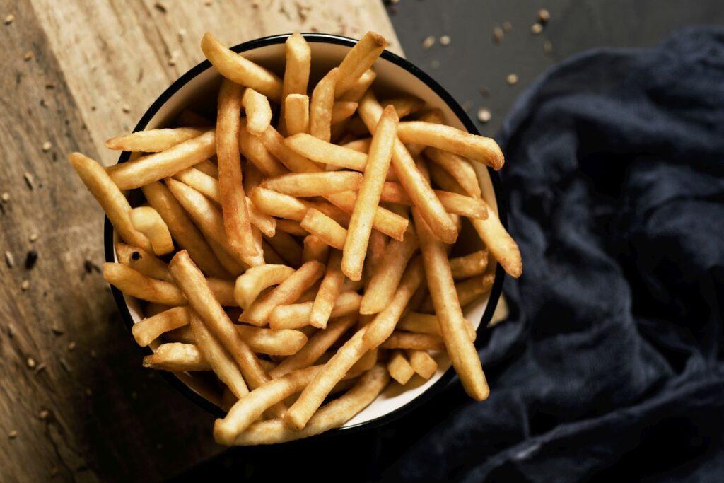 картошка фри в домашней фритюрнице