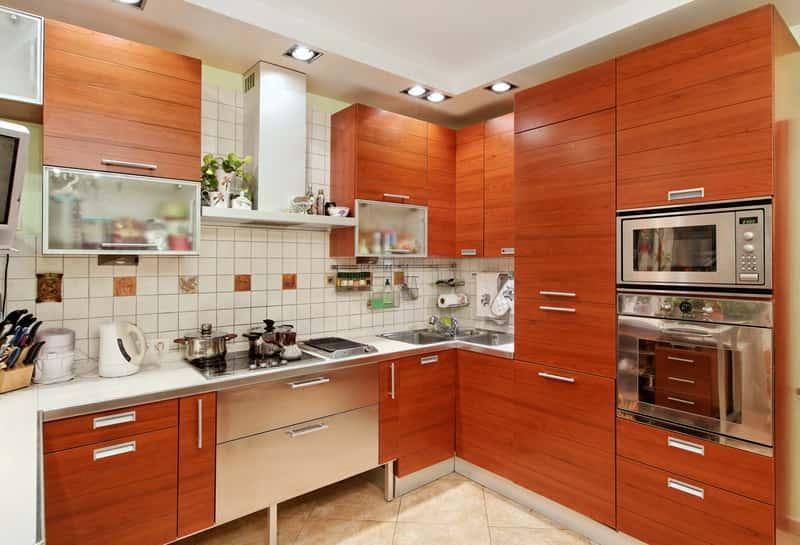 кухни с угловой мойкой фото